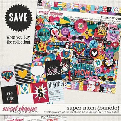 Super Mom Bundle by Blagovesta Gosheva, Studio Basic and Two Tiny Turtles