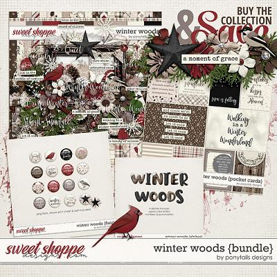 Winter Woods Bundle by Ponytails