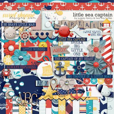 Little Sea Captain: Kit by Sugary Fancy & Two Tiny Turtles