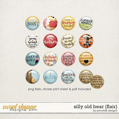 Silly Old Bear Flair by Ponytails