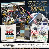 #believeinmagic: Galaxy Wars Collection by Amber Shaw & Studio Flergs