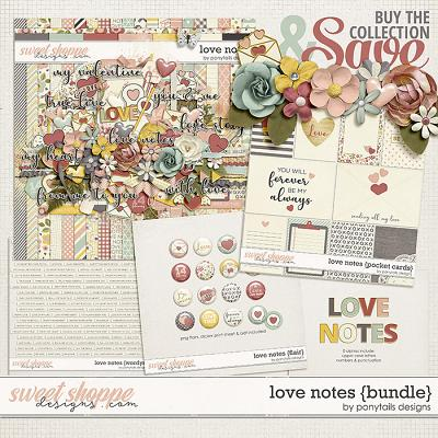 Love Notes Bundle by Ponytails
