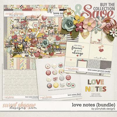 Love Notes Bundle by Ponytails