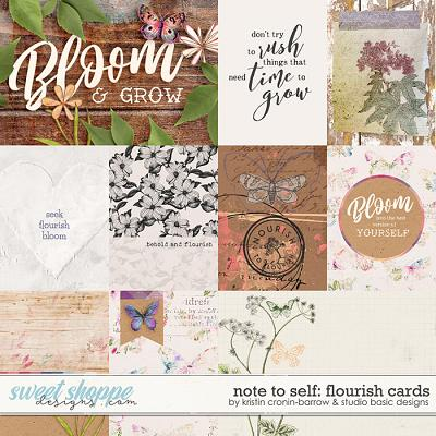 Note To Self: Flourish Cards by Kristin Cronin-Barrow & Studio Basic