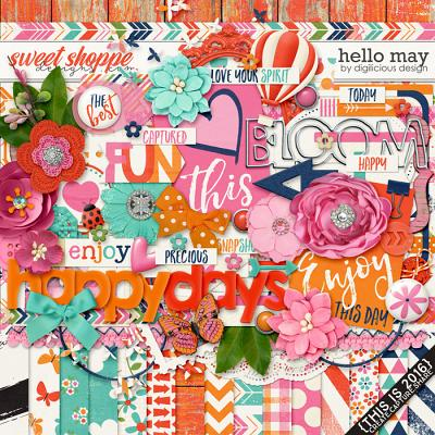 Hello May {Kit} by Digilicious Design