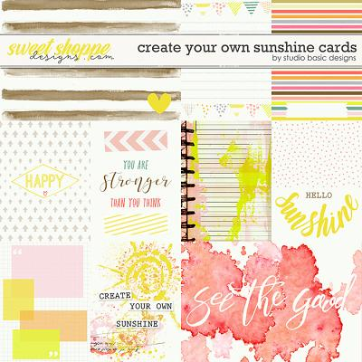 Create Your Own Sunshine Cards by Studio Basic