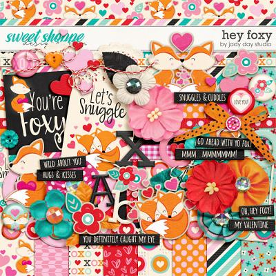 Hey Foxy by Jady Day Studio
