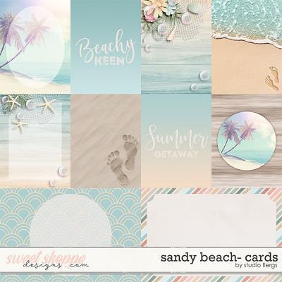 Sandy Beach: CARDS by Studio Flergs
