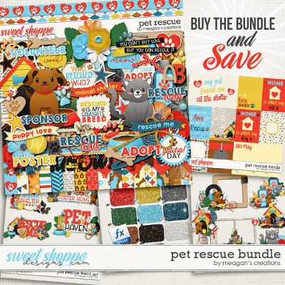 Pet Rescue: Collection Bundle by Meagan's Creations