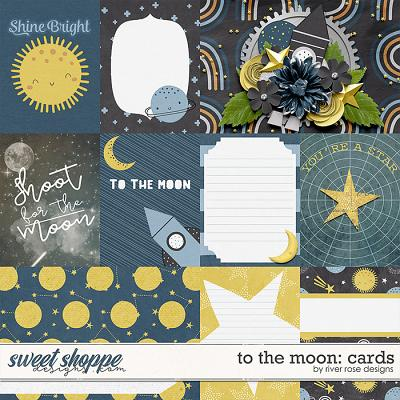 To the Moon: Cards by River Rose Designs