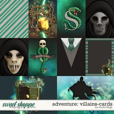 Adventure: Villains- CARDS by Studio Flergs