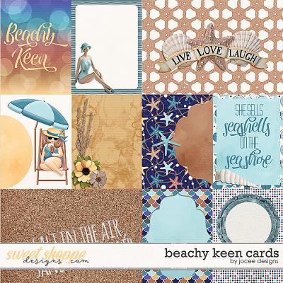 Beachy Keen Cards by JoCee Designs
