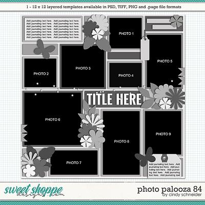 Cindy's Layered Templates - Photo Palooza 84 by Cindy Schneider
