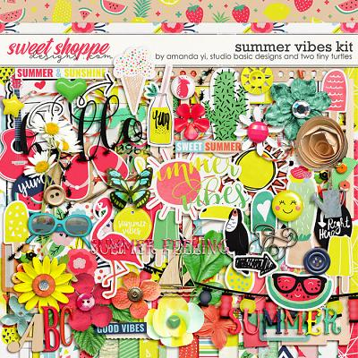 Summer Vibes: Kit by Amanda Yi, Studio Basic Designs & Two Tiny Turtles
