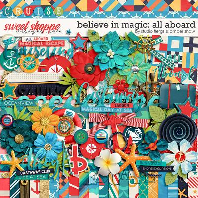 Believe in Magic: ALL ABOARD- by Studio Flergs & Amber Shaw