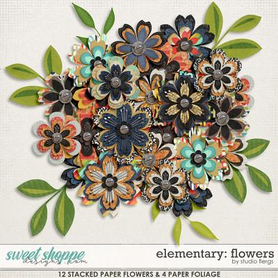 Elementary: FLOWERS by Studio Flergs