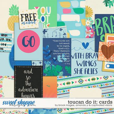 Toucan Do It : Cards by Brook Magee, Amanda Yi & Captivated Visions