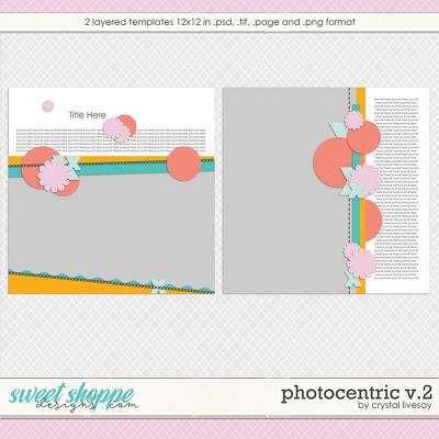 Photocentric V2 Templates by Crystal Livesay