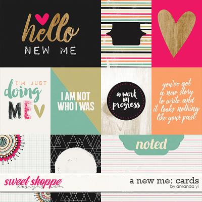 A New Me: Cards by Amanda Yi