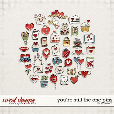 You're Still The One Pins by LJS Designs