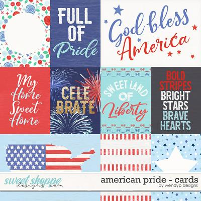 American pride - cards by WendyP Designs