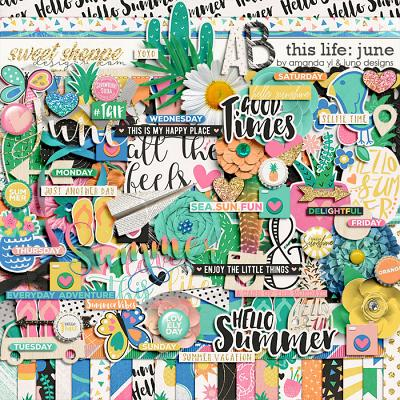 This Life: June by Amanda Yi & Juno Designs