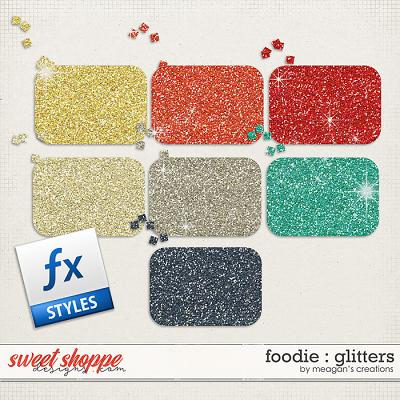 Foodie : Glitters by Meagan's Creations