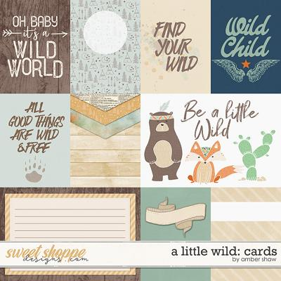 A Little Wild: Cards by Amber Shaw