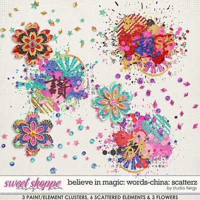 Believe in Magic: Worlds - CHINA Scatterz by Studio Flergs