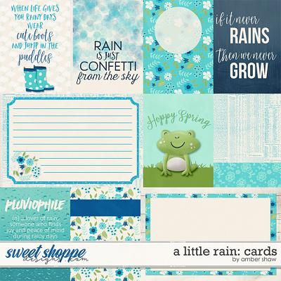 A Little Rain: Cards by Amber Shaw