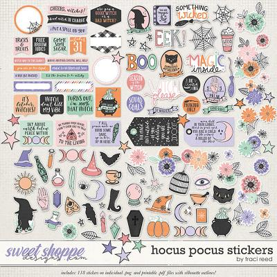 Hocus Pocus Stickers by Traci Reed