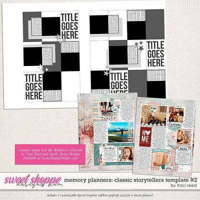 Memory Planners - Classic - Storytellers #2 by Traci Reed