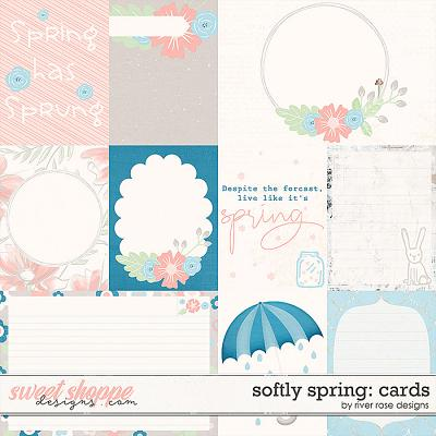 Softly Spring: Cards by River Rose Designs