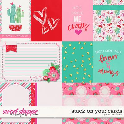Stuck on You: Cards by Amber Shaw