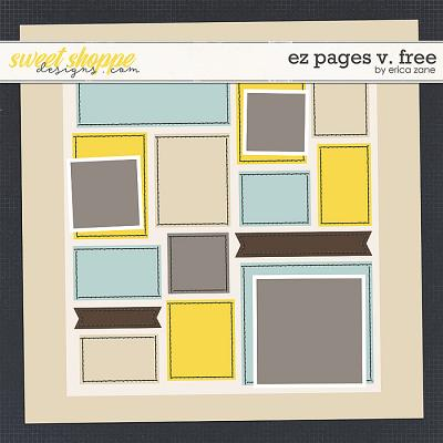 EZ Pages v.FREE Template by Erica Zane
