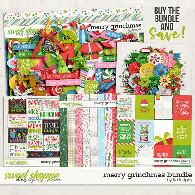 Merry Grinchmas Bundle by LJS Designs
