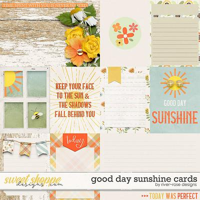 Good Day Sunshine Cards by River Rose Designs