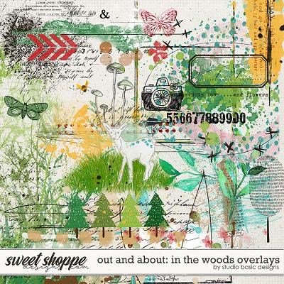 Out and About: In the Woods Overlays and Studio Basic Designs