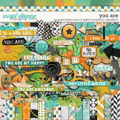 You Are by Captivated Visions & Digital Scrapbook Ingredients