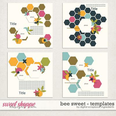 Bee Sweet Templates by Digital Scrapbook Ingredients