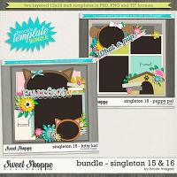 Brook's Templates - Bundle - Singleton 15 & 16 by Brook Magee