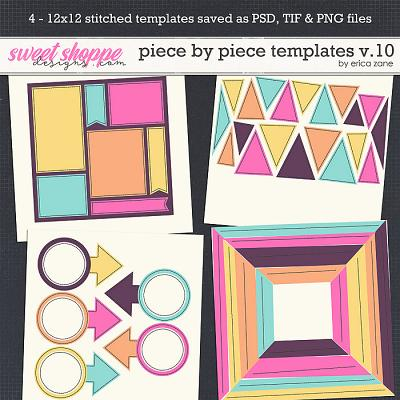 Piece by Piece v.10 Templates by Erica Zane