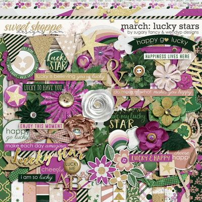 March: Lucky stars by Sugary Fancy & WendyP Designs