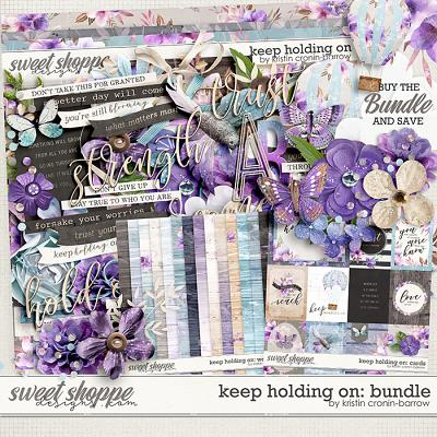 Keep Holding On: Bundle by Kristin Cronin-Barrow