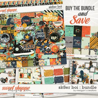 Sk8er Boi Collection Bundle by Meagan's Creations