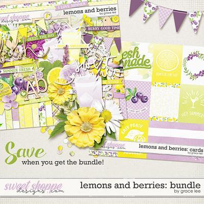 Lemons and Berries: Bundle by Grace Lee