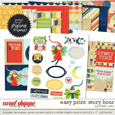 Easy Print: Story Hour by Misty Cato