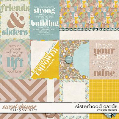 Sisterhood Cards by JoCee Designs