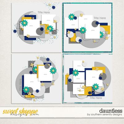 Dauntless Layered Templates by Southern Serenity Designs