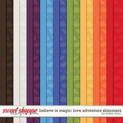Believe in Magic Love Adventure: Shimmers by Amber Shaw